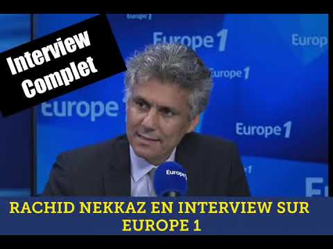 Rachid Nekkaz invité de EUROPE 1 RADIO 08 03 2019 رشيد نكاز