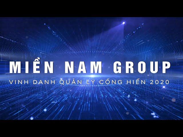 Vinh danh quản lý cống hiến khối văn phòng 2020 | Miền Nam Group