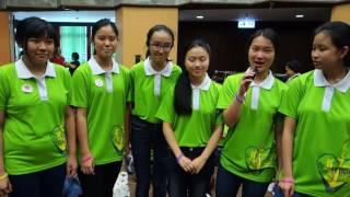 20160710德望學校學生在波蘭世青派遣禮前分享/公教報