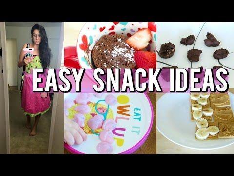 Easy Snack/Dessert Ideas | Weight watchers SmartPoints