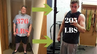 My Full Fitness Transformation (170 LBS WEIGHT LOSS)