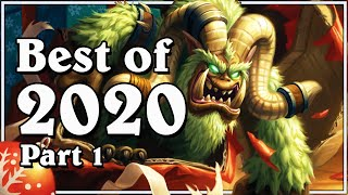 Funny And Lucky Moments - Hearthstone - Best Of 2020 (Part 1)