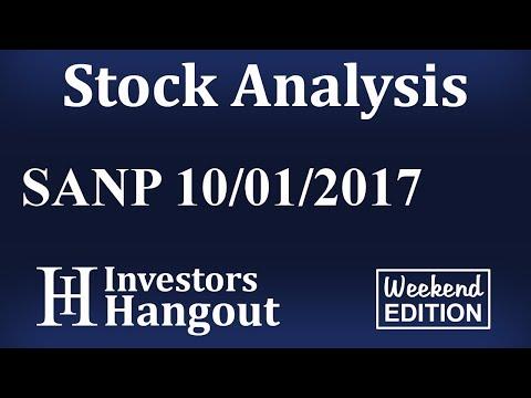 SANP Stock Analysis 10-01-2017