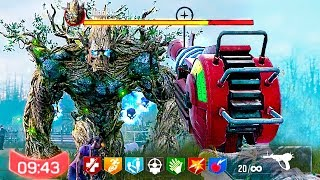 cOD MOBILE ZOMBIES FULL EASTER EGG  BOSS FIGHT! (Call of Duty Mobile Zombies)