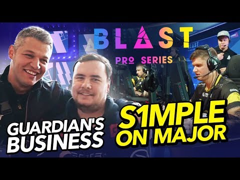 #NAVIVLOG: Blast format, s1mple on Major, GuardiaN's business