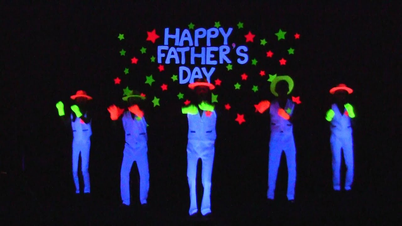 ACCCN Father's Day Black Light Performance 2012 - YouTube