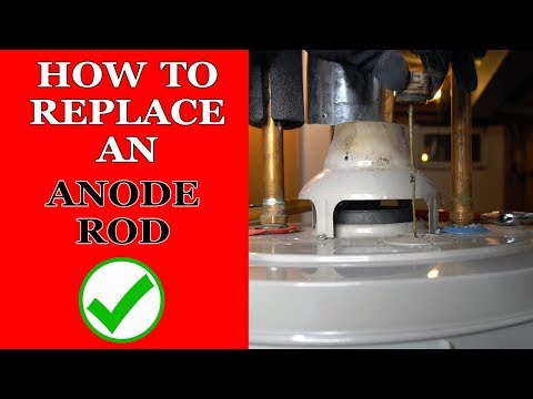 How To Replace Anode Rod In A Water Heater - Step By Step