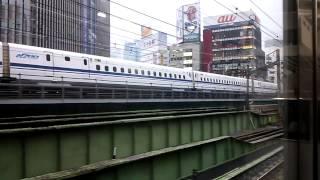 Repeat youtube video 【併走バトルwwwwww】東海道新幹線のぞみに勝つ山手線!!