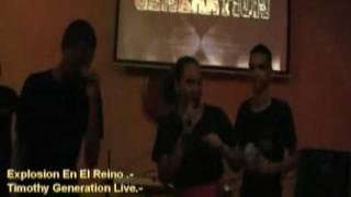 Explosion En El Reino  TIMOTHY GENERATION -live  www clubtng tk (2010) Thumbnail