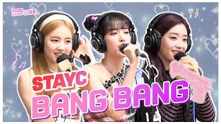 [LIVE] STAYC - Bang Bang (Jessie J, Ariana Grande, Nicki Minaj) / 전효성의 꿈꾸는 라디오 / MBC 210420 방송