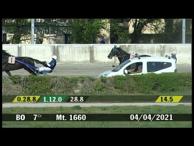 2021 04 04   Corsa 7   Metri 1660   Premio Acetica