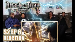 WARRIOR! ATTACK ON TITAN 2X6 REACTION/REVIEW