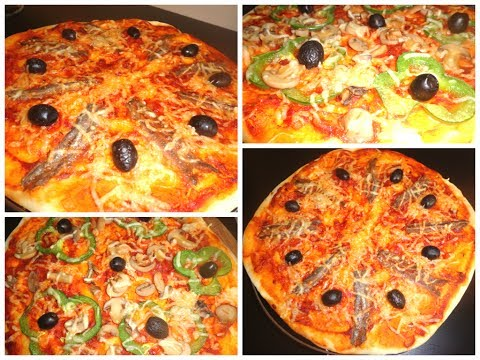 pizza-aux-anchois-vegetarienne