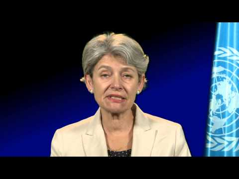Irina Bokova Message on Global Ethics and Equal Opportunities - UNESCO Gender Equality