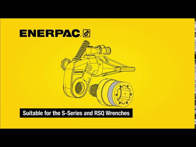 Safe T Torque Lock Enables Hands-Free Bolting | Enerpac