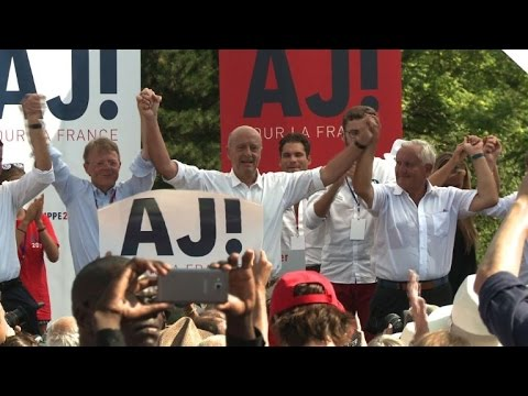 French politician Alain Juppé sets sights on presidency