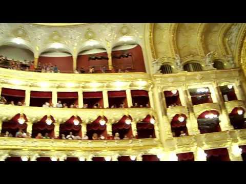 Одесский театр оперы и балета внутри (Odessa Opera and Ballet Theater)