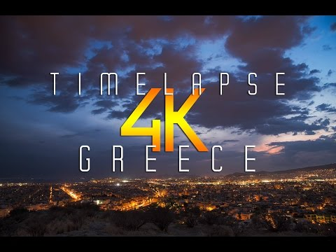 GREECE | Timelapse Sunset 4k