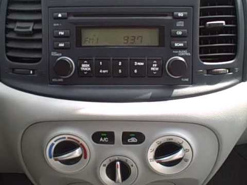 2007 hyundai accent 0001 youtube