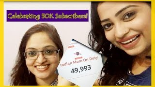 Celebrating 50K Subscribers! VLOG - Part 1 - One of my subscriber came to meet me from Pune