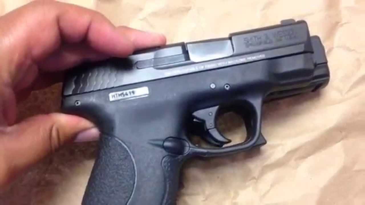 M And P Shield Vs Glock 26 MGK - Smith and Wesson...