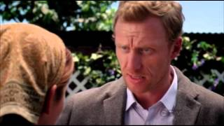 Grey's Anatomy 9x01- Owen rehires April and Callie/Arizona Final Scene