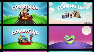 Disney Jr. Asia Coming Up/ Now Bumpers Compilation Continuity April 29, 2020  @Continuity Commentary