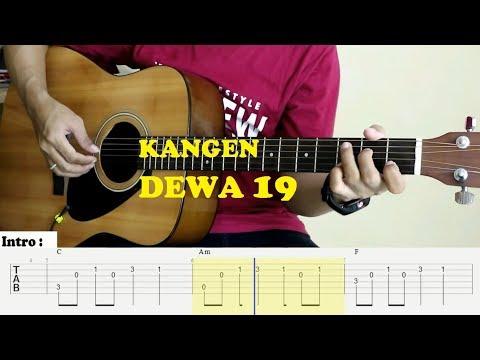 simpel-&-mudah---fingerstyle-guitar-cover-+-tab-tutorial---kangen-(dewa-19)
