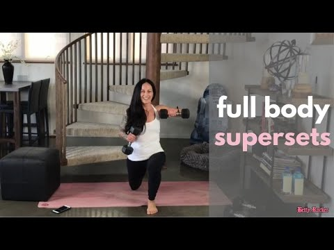 Full Body Supersets