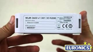 Sitecom   Modem Router WiFi X3 N300   WLM 3600