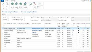 NAV Universal Excel Import Export - Introduction