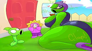 1 Cactus vs Tall-nut vs 99 Gargantuar vs Giga-gargantuar Plants vs Zombies Battlez