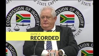Agrizzi expected to detail more Bosasa payments