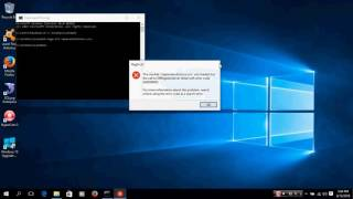 regsvr32 windows 10 error code 0x80004005 module was loaded but the the call to dll register failed