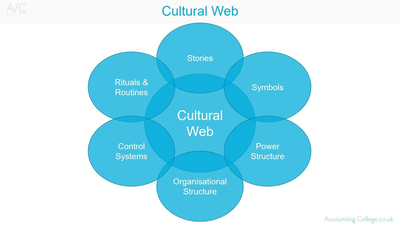example of a cultural web analysis of a company