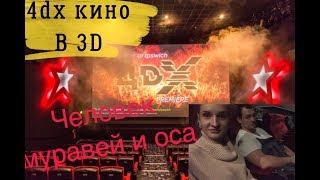Смотреть видео Кинотеатр 4Dx в 3D ЧЕЛОВЕК МУРАВЕЙ И ОСА! Можно ли беременным туда? ОТЗЫВ 💭 онлайн