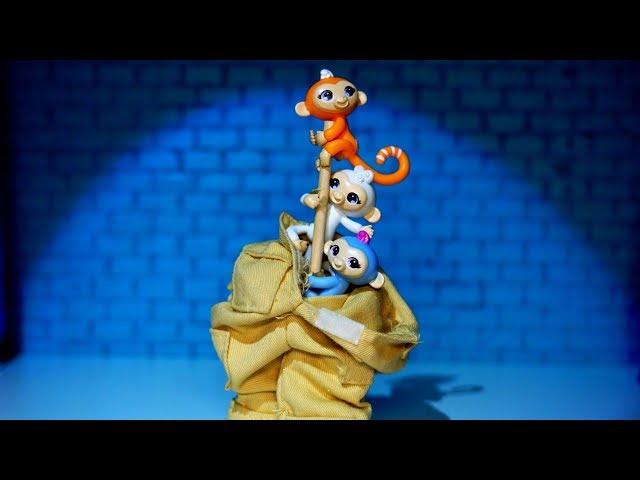The Fingerlings Show | The Fingerlings Perform Magic Tricks? | Fingerlings Toy Play