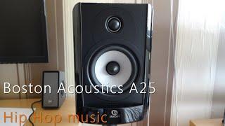 Boston Acoustics A25, CA Topaz am10 - Hip Hop