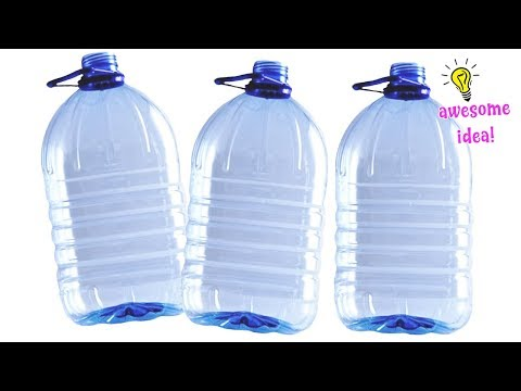 5 WONDERFUL WAYS FOR BIG PLASTIC BOTTLES IDEAS THAT YOU CAN MAKE AT HOME! Best Reuse Ideas