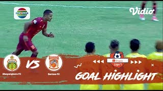 Bhayangkara FC (1) vs (1) Borneo FC - Goals Highlights | Shopee Liga 1