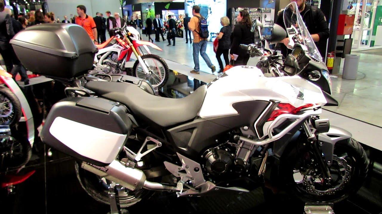 Honda cbx 500 review - 2014 Honda Cb500x Walkaround 2013 Eicma Milan Motorcycle Exibition Youtube