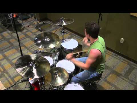 Stand Up - Trapt - Drum Cover - (Chase)
