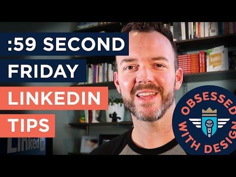 LINKEDIN BASICS - 3Tips for young professionals on LinkedIN