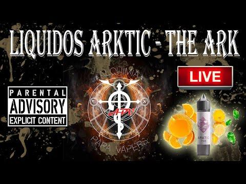 APV 227. Revisión nueva gama de líquidos Arktic de The Ark.