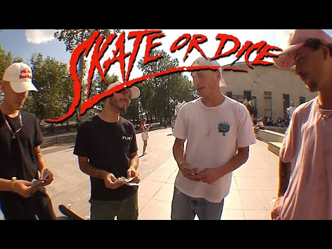Skate or Dice in Paris, France!  With Gustavo Ribeiro, Lucas Rabelo and Angelo Caro