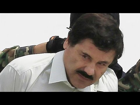 "Mexico recaptures drug boss ""Chapo"" Guzman, according to President Pena Nieto"