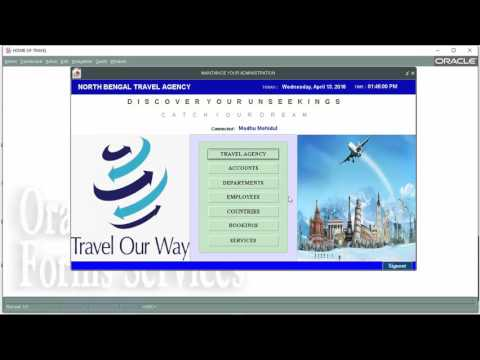 Travel Agency Management System Software(Oracle)
