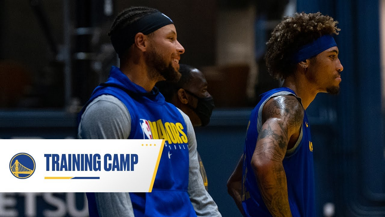Behind The Scenes at Golden State Warriors Training Camp, fueled by Gatorade - December 7, 2020