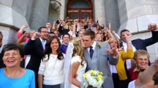 Brady & Sarah Davies - Salt Lake Temple Wedding