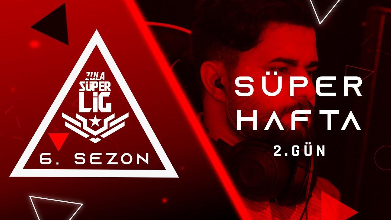 Zula Süper Lig Süper Hafta 2. Gün Karşılaşmaları